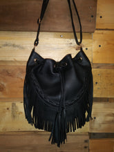 Load image into Gallery viewer, Hobo Bag W/Tassels
