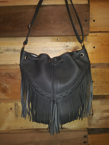 Hobo Bag W/Tassels