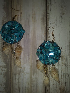 Sea Life Dangle Earrings