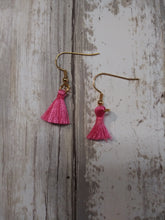 Load image into Gallery viewer, Mini Tassel Ear Rings