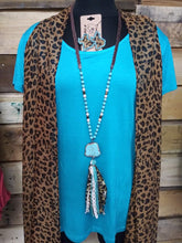 Load image into Gallery viewer, Trendy Leopard Kimono 6206