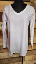Load image into Gallery viewer, Cotton V-Neck Long Sleeve GT1058