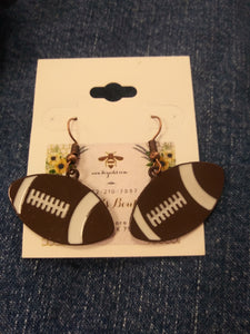 Football Earrings # 73242