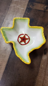 Texas Shape Clay Art Tray