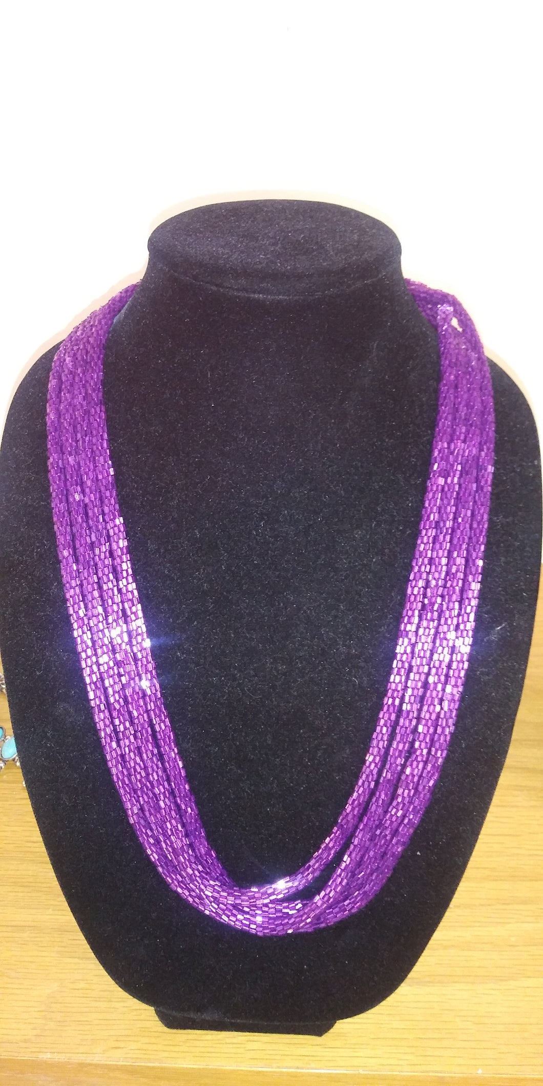 Crazy Train Loopty Loop Beaded Necklace