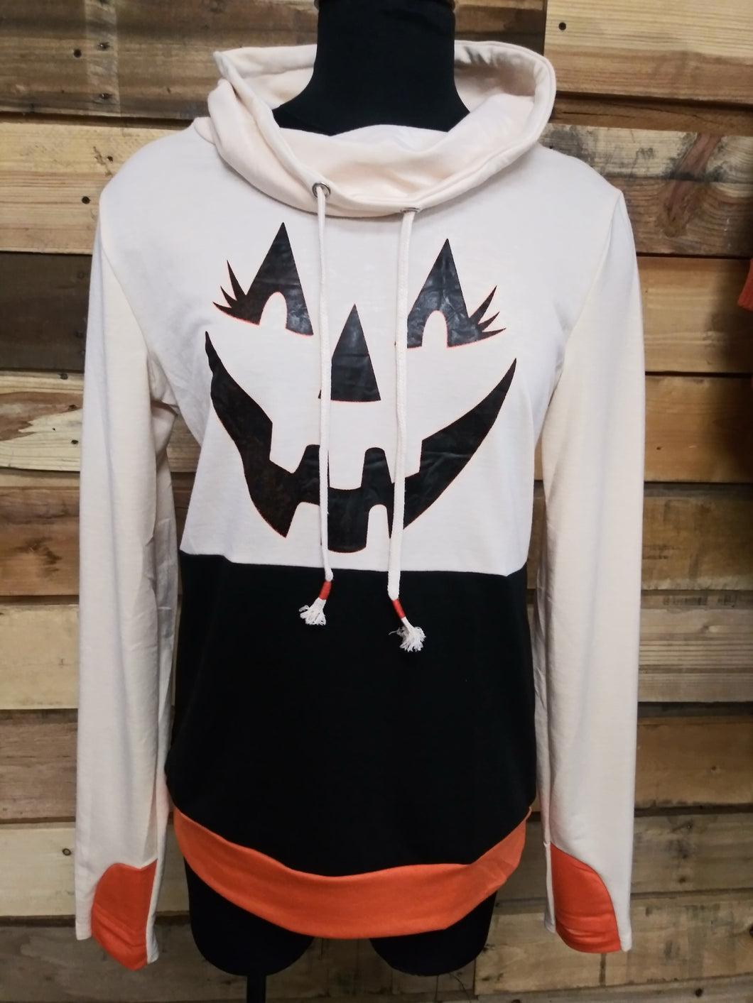 Halloween Jack O' Lantern Top