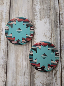 Ceramic Car Coasters