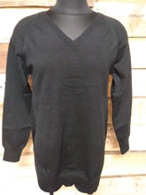 Load image into Gallery viewer, Heather V Neck Sweater