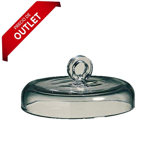 2279. TAPA DE CUARZO TRANSPARENTE P/CRISOL DE 100ML - QUARTZ SCIENTIFIC