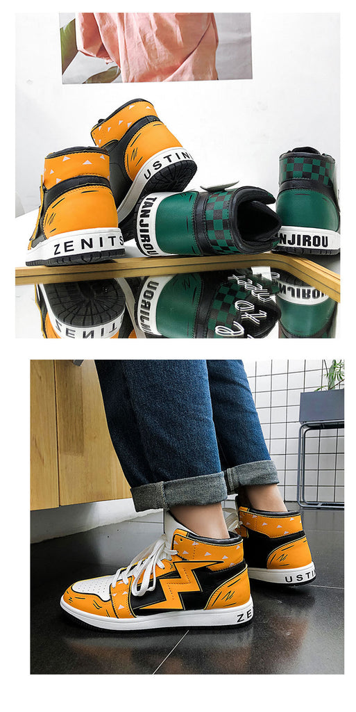 Tanjiro and Zenitsu Sneakers