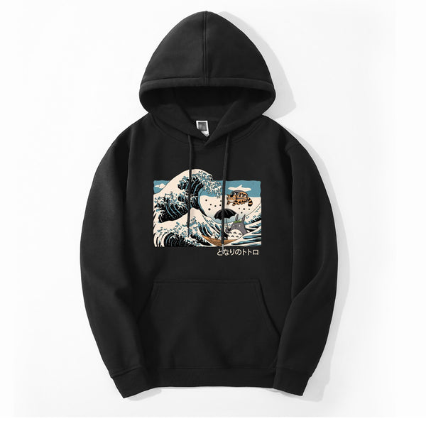 My Neighbor Totoro Wave Hoodie