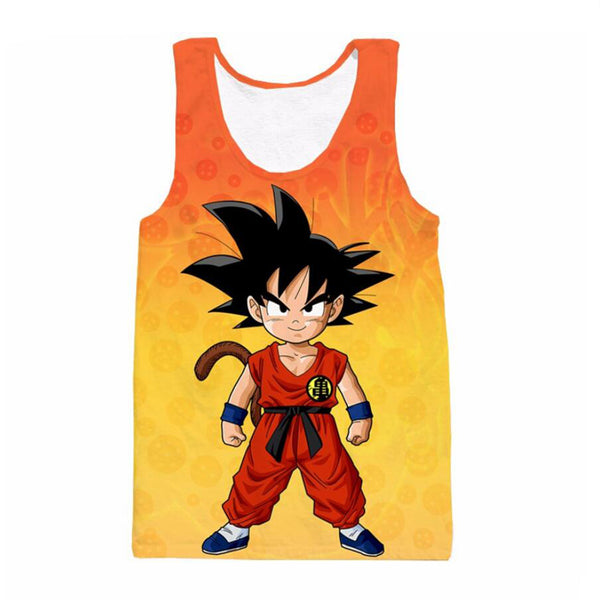 Dragon Ball Z Kid Goku Tank Top