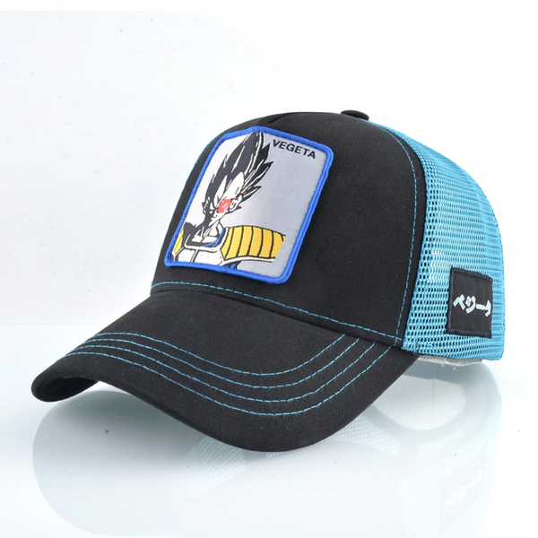 Dragon Ball Z Scouter Vegeta Trucker Hat