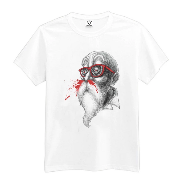 Dragon Ball Z Master Roshi Nose Bleed T-Shirt
