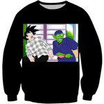 Dragon Ball Z Black Meme Long Sleeved Shirt