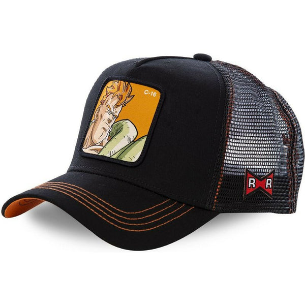 Dragon Ball Z Android 16 Trucker Hat