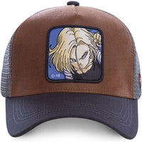 Dragon Ball Z Android 18 Trucker Hat
