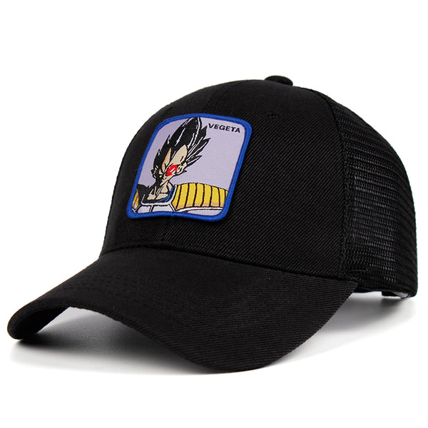 Dragon Ball Z Vegeta Patch Trucker