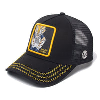 Dragon Ball Z Majin Vegeta Signature Black Trucker Hat