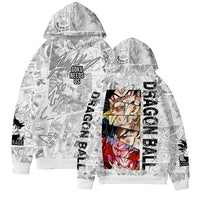 Dragon Ball Z Goku Needs Us Manga Hoodie