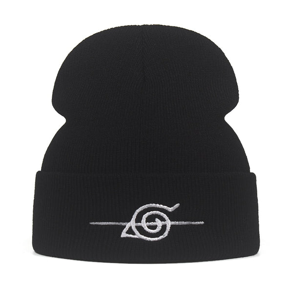 Naruto Crossed Out Hidden Leaf Village Symbol Beanie
