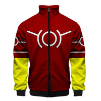 My Hero Academia Red All Might Costume Track Jacket