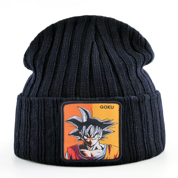 Dragon Ball Z Goku Ribbed Beanie