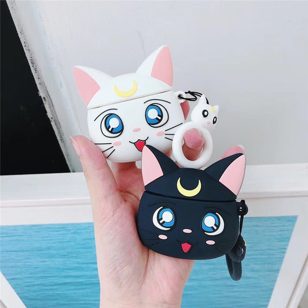 Sailor Moon Cat Airpod Cases
