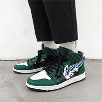 Demon Slayer Tanjiro Basketball Sneakers