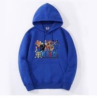 One Piece Straw Hat Pirates Crew Hoodie