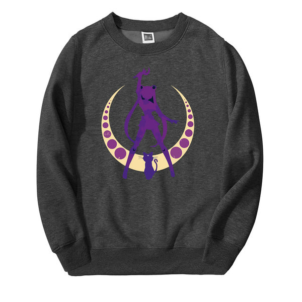 Sailor Moon Silhouette Long Sleeved Shirt