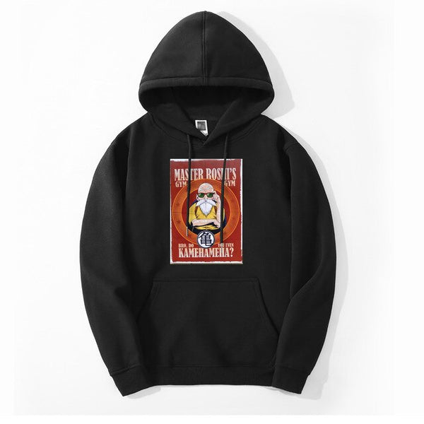Master Roshi Gym Do You Even Kamekameha Hoodie