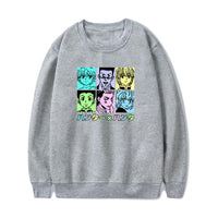 Hunter X Hunter Pastel Characters Long Sleeve Shirt