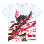 Kill la Kill Ryuko Matoi Digital Printed T-Shirt