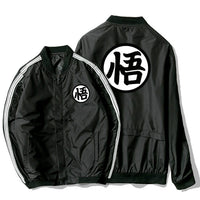 Dragon Ball Z Goku Kanji Tech Bomber Jacket