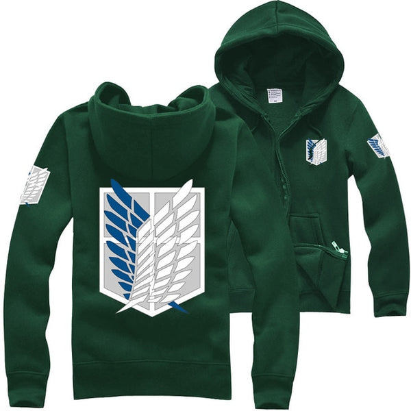 Attack on Titan Scout Regiment Emblem Hoodie