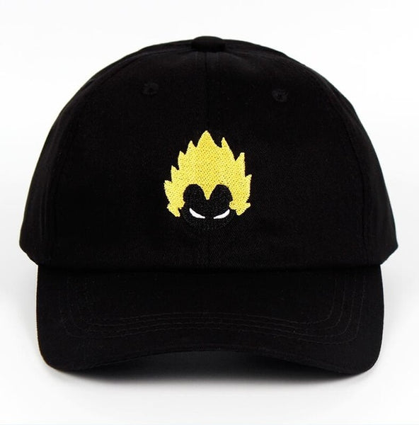 Dragon Ball Z Super Saiyan Vegeta Baseball Cap