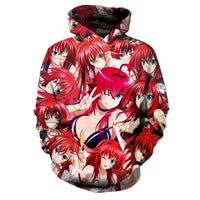 High School DxD: Rias Gremory OVERLOAD Hoodie