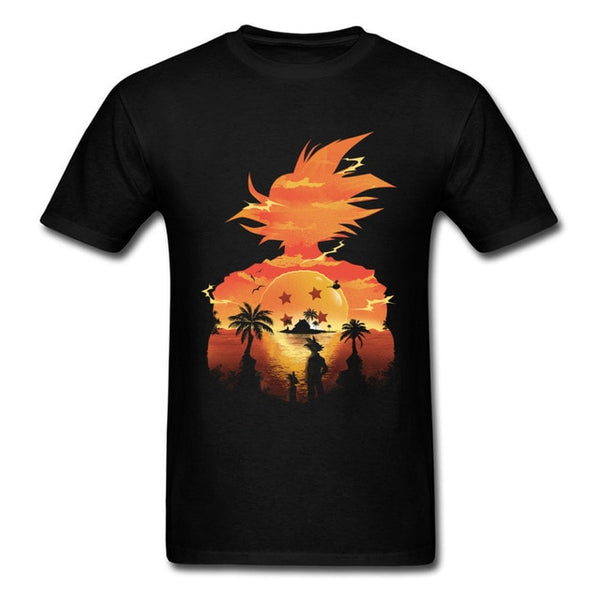 Dragon Ball Z Goku Sunset T-Shirt