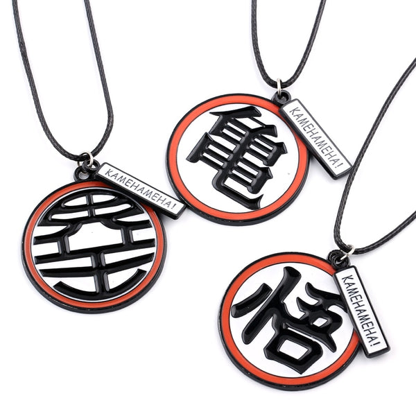 Dragon Ball Z Kanji Necklace