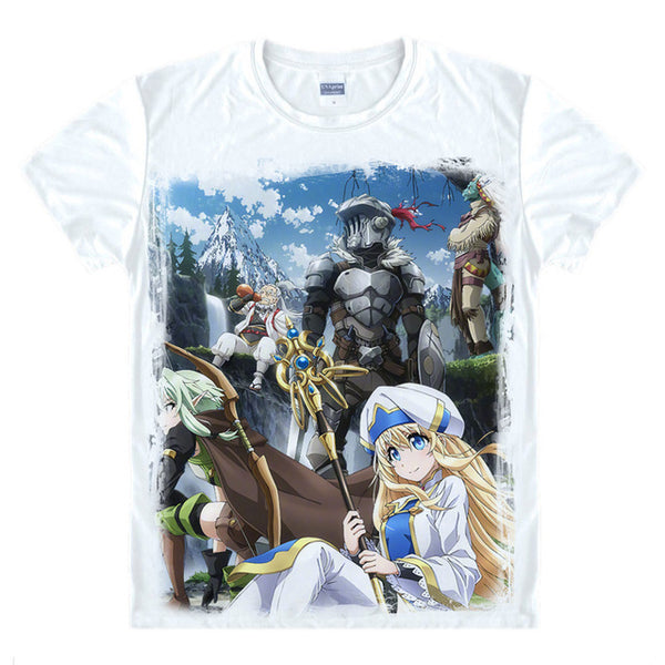 Goblin Slayer Adventurers Digital Printed T-Shirt
