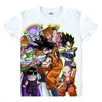 Dragon Ball Z Digital Printed Characters T-Shirt