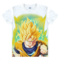 Dragon Ball Z Digital Printed Goku Super Saiyan T-Shirt