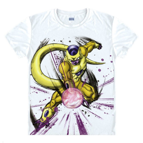Dragon Ball Z Digital Printed Golden Frieza T-Shirt