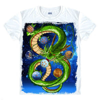 Dragon Ball Z Digital Printed Shenron T-Shirt