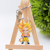 Dragon Ball Z Character Keychain Variety