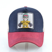 Dragon Ball Z Bulma Simple Trucker Hat