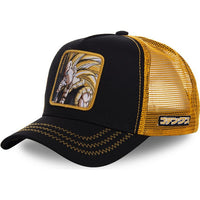 Dragon Ball Z Super Saiyan 3 Gotenks Trucker Hat