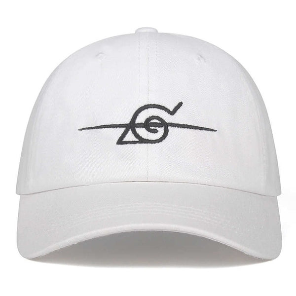 Naruto Crossed Out Hidden Leaf Village Symbol Cap