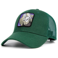 Dragon Ball Z Android 18 Patch Trucker Hat